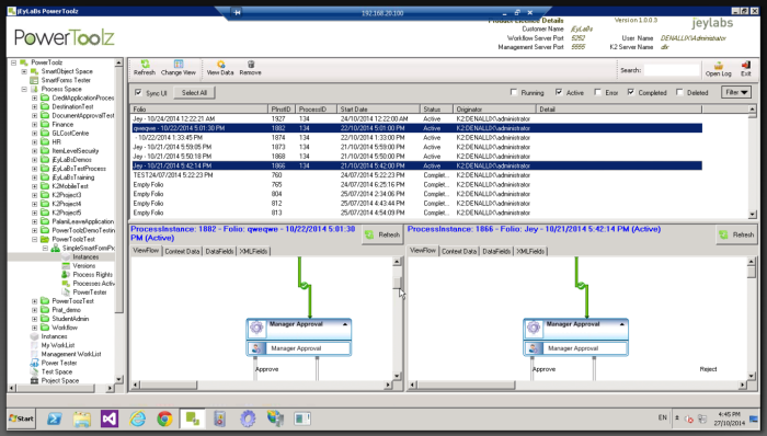 Process Instance Comparison