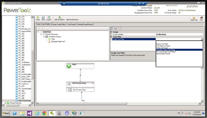 Process Tester-TestCase